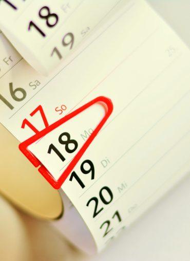 Agenda pour événements et sorties