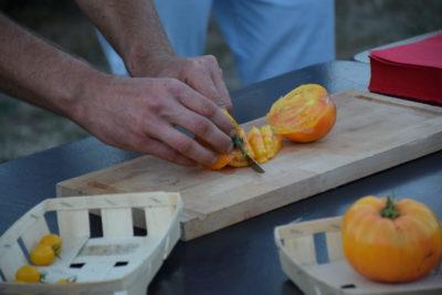 Decoupage tomates - A CLEMENT
