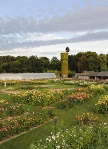 Jardins du Château de la Bourdaisière à Montlouis en Touraine