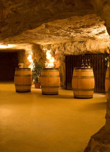 Cave à vin troglodytique à Vouvray pour les Tuffolies