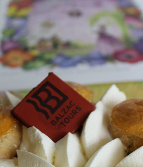 gâteau le balzac spécialité culinaire touraine