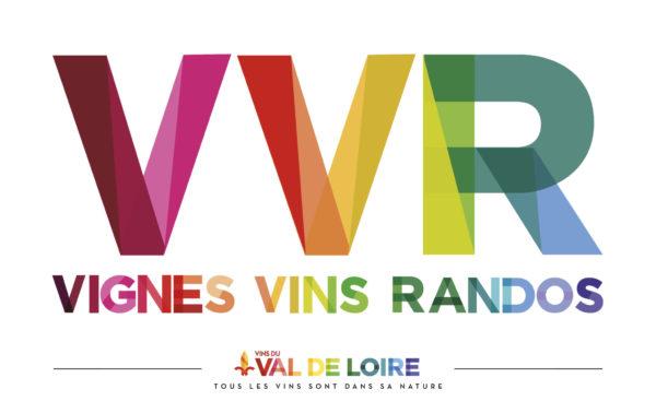 Logo vignes vins randos val de loire