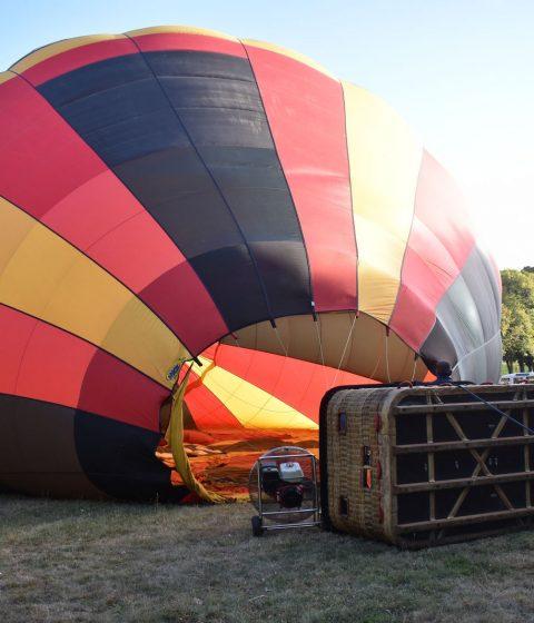Vol en montgolfière à Amboise avec Balloon Revolution