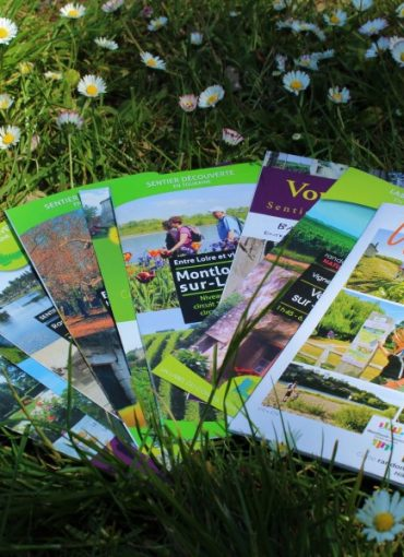 Brochures tourisme à Montlouis Vouvray
